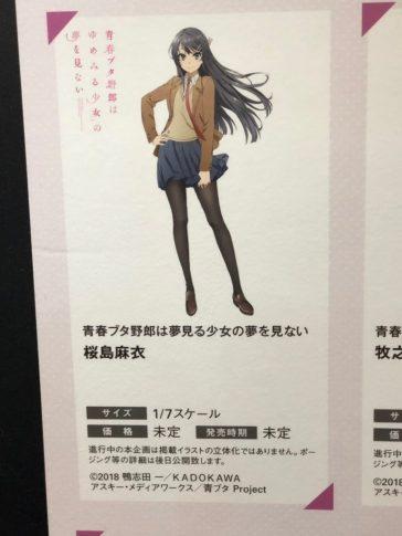 Mai Sakurajima (Seishun Buta Yarou wa Bunny Girl Senpai no Yume wo Minai) - Aniplex+